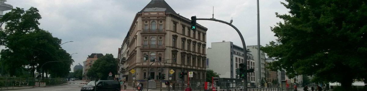 Blick auf die Kanzlei von OBENHAUS Anwaltsjkanzlei für Steuerrecht in Hamburg, Grindelallee 1